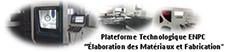 Visite de Mr le Ministre à la plateforme technologique « Elaboration des Matériaux et Fabrication » de l'ENP Constantine le 25 Juillet 2020